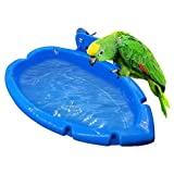 Cuenco De Bañera Para Pájaros, Pet Parrots Bathtub, Caja De Baño Colgante Para Jaula De Loros, Cuenco Alimentador De Alimentos Para Mascotas, Accesorio Para Mascotas, Canarios, Agapornis, Periquitos